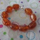 Faux Amber Bracelet