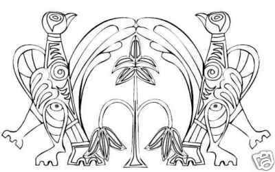 Collection of CELTIC ANIMALS Printable Images 84 Pages