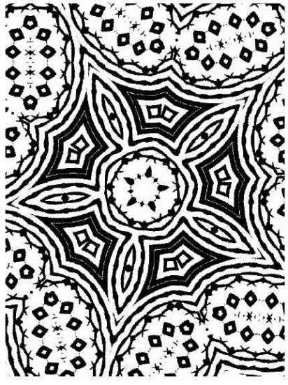 Collection of KALEIDOSCOPES Printable Images 50 Pages
