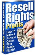 MAKE MONEY! Resell Rights Profits