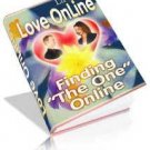LOVE ONLINE - FINDING THE ONE ONLINE GUIDE