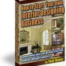 How To Start An Interior Designing Business