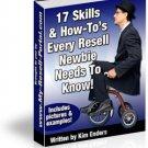 17 skills every resale rights newbie needs ebook
