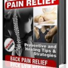There is finally Relief for Back Pain!
