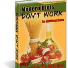 MODERN DIETS DON'T WORK! Find out why!