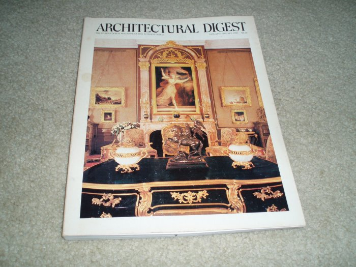 Architectural Digest Magazine, January/February 1980