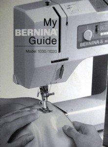BERNINA 1030 / 1020 SEWING INSTRUCTION MANUAL GUIDE CD