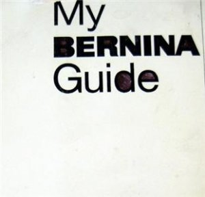 830 MY BERNINA GUIDE + ADJUSTMENTS & SPARE PARTS CD