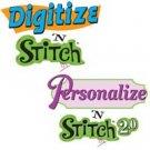 Amazing Designs DIGITIZE & PERSONALIZE' STITCH Software