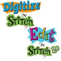Amazing Designs DIGITIZE & EDIT'N STITCH Software