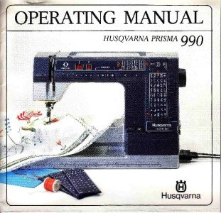 VIKING/HUSQVARNA 990 Operating Manual CD
