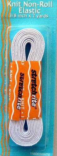 Elastic 3/8 inch x 2 yards Knit Non Roll