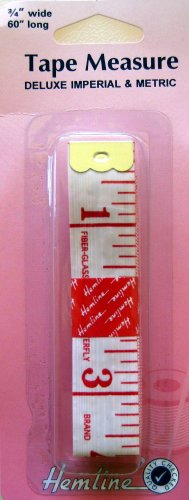 """Tape Measure --Deluxe Metric/Imperial 3/4""""W x 60""""L"""