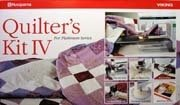 VIKING HUSQVARNA QUILTER'S KIT IV FOR PLATINUM SERIES