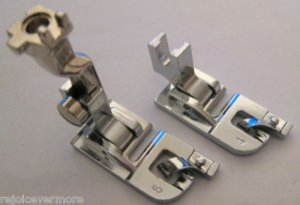 """Hemmer Feet  6mm -1/4"""" &  4mm - 3/16""""  for ALL Bernina New Style"""