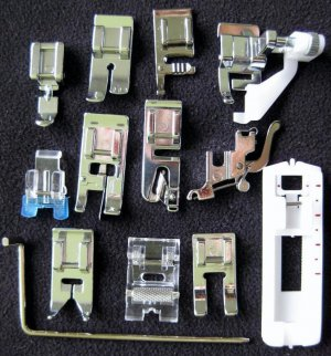 14 Sewing Feet  for most  Low Shank sewing machines