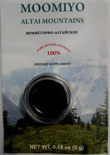 Mumiyo Altai Mountains-Secret Weapon Against Illness 10 Gr Mummyo/Moomiyo