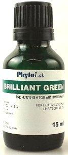 Brilliant Green 15 Ml Antiseptic Blepharitis Pyoderma