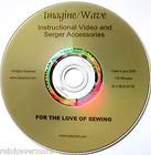 Baby Lock Imagine/Wave Instructional Video DVD