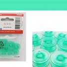 Green Bobbins 4131825-45 Compatible with Viking Husqvarna cat 5, 6, 7 Original Item