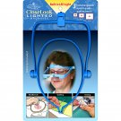 the hands-free triple lens magnifier Taylor Seville Closelook Lighted Magnifier