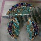Paper & Beads to make Earrings & Pendant Set.