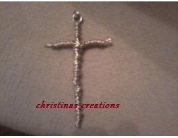 Silver Wire Cross
