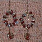 Wreath Dangle Earrings