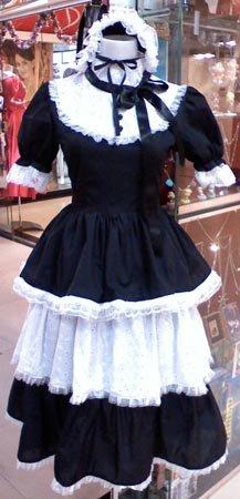 Lolita Cosplay Maid dress