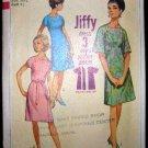 Vintage 1960's Simplicity Jiffy Sewing Pattern 7031 Dress Plus Size 20 1/2 CUT