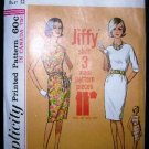 Vintage 1960's Simplicity Jiffy Sewing Pattern 4947 Long or Short Sleeve Shift Dress Size 12 UNCUT