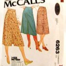Vintage 1970's McCalls Sewing Pattern 6263 Skirt 3 Styles Size D 12 14 16 UNCUT