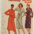 Vintage 1970's Quick Butterick Sewing Pattern 6667 Dress Top Skirt Belt Size 16 UNCUT