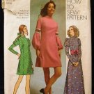 Vintage Susan Dey Model 70's Simplicity Sewing Pattern 9626 Long Short Princess Dress Size 16 CUT