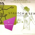 1967 Stretch and Sew Sewing Pattern 250 Ladies Top with Cap Sleeve Size 28 30 32 34 36 38 40 42 44