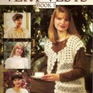 1993 Leisure Arts Very Vests Book 1 Pattern Leaflet #2499 Crochet Vest in 4 Styles A1003