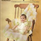 Knitting and Crochet Pattern For Baby with Love Booklet 792 Booties Christening Dress Sleeper A1005