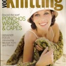 Fall 2004 Vogue Knitting Pattern Magazine Ponchos Wraps Cover ups and more A1021