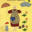 What's New Country Borders Iron On Fabric Applique Kit Cat and Mouse #72137 New in Package