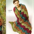 Berroco Knitting Pattern Booklet #252 Afghan Long Short Bolero Jacket Vest Cardigan Hat Warmer A1028