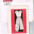Vintage 60's Mail Order Sewing Parade Pattern Service 4896 Culotte Goucho Blouse Size 16 CUT MO102