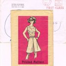 Vintage 70's Mail Order Sewing Pattern Detroit Free Press 9069 Tank Top Blouse Culotte Size 16 CUT