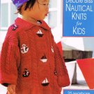 Debbie Bliss Nautical Knits for Kids Knitting Book Hardcover 25 Projects Cardigan Tunic A1058