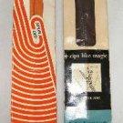 2 Vintage Zippers Zipper Talon and Spun Dee Dress or Neckline 14 inch Brown Orange #116