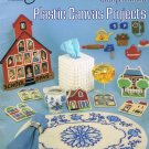 Easy to Make Plastic Canvas Projects Booklet Volume 1 Placemat Tissue Holder Magnets and More A1072