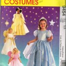 1990's McCalls Costume Sewing Pattern 9454 Princess and Angel Kids Girls Size 5 - 6 UNCUT