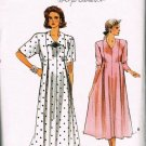 80's Very Easy Vogue Sewing Pattern 9820 Loose Flowing Maternity Dress Size 14 16 18 CUT