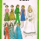 Simplicity Sewing Pattern 8281 Barbie Fashion Doll Clothes Wedding Gown 11 1/2 - 12 1/2 inch CUT