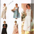 Summer Skirt Top Detachable Collar 90's Simplicity Sewing Pattern 7239 Size 8 - 20 Plus UNCUT