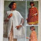 1970's Simplicity Craft Pattern 5607 Crochet Cape in 2 Styles Misses Size 10 - 20